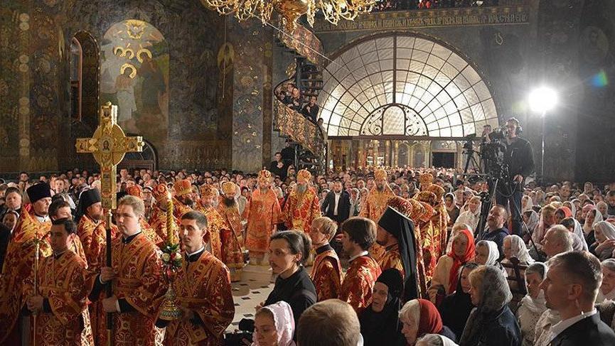 Ukrayna'da yeni kilise kuruldu!