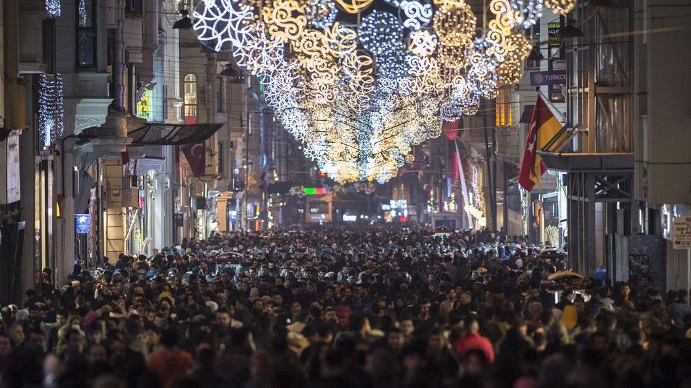 İstanbul'da yılbaşı kutlaması sadece bir yerde