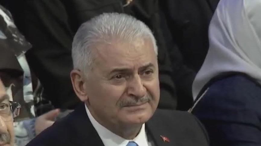 Binali Yıldırım gözyaşları ile AKP'nin İBB adayı oldu