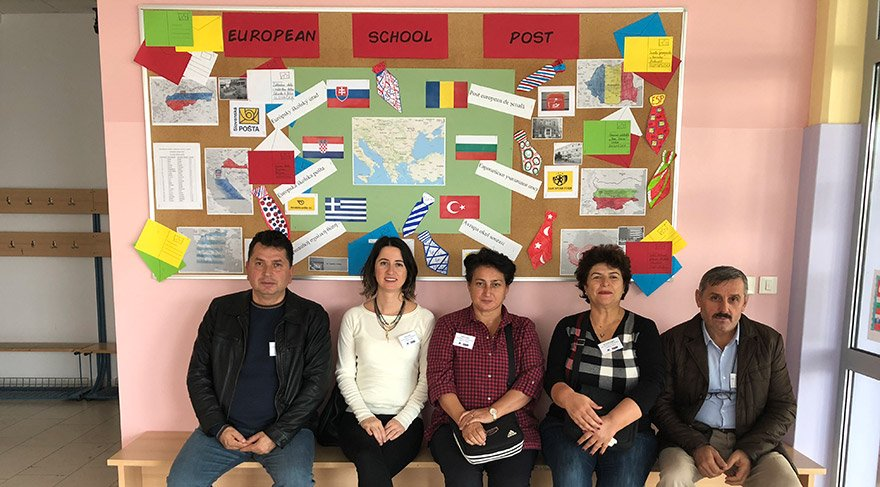 Hırvatistan ziyareti Petrianec Okulu'nda.