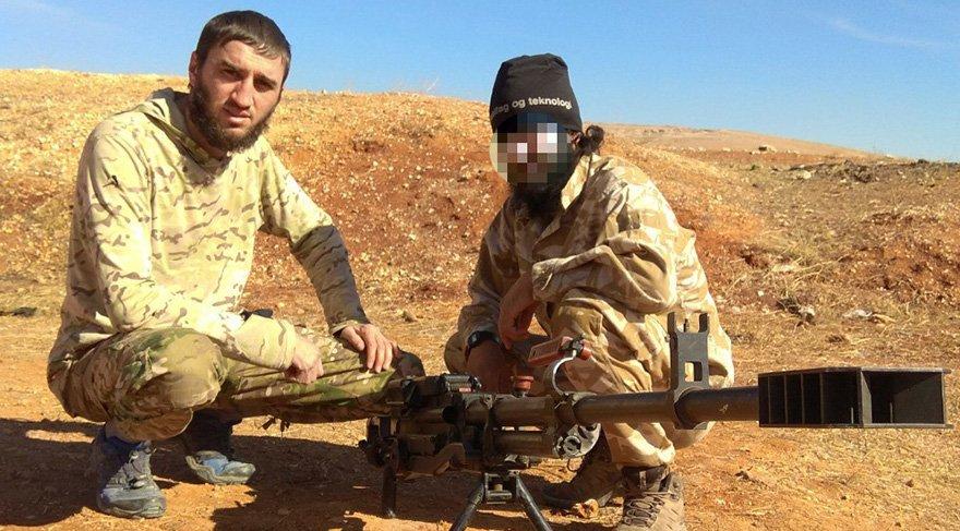 IŞİD üyesi cani Suriye'de eğitim aldı. Foto: İHA