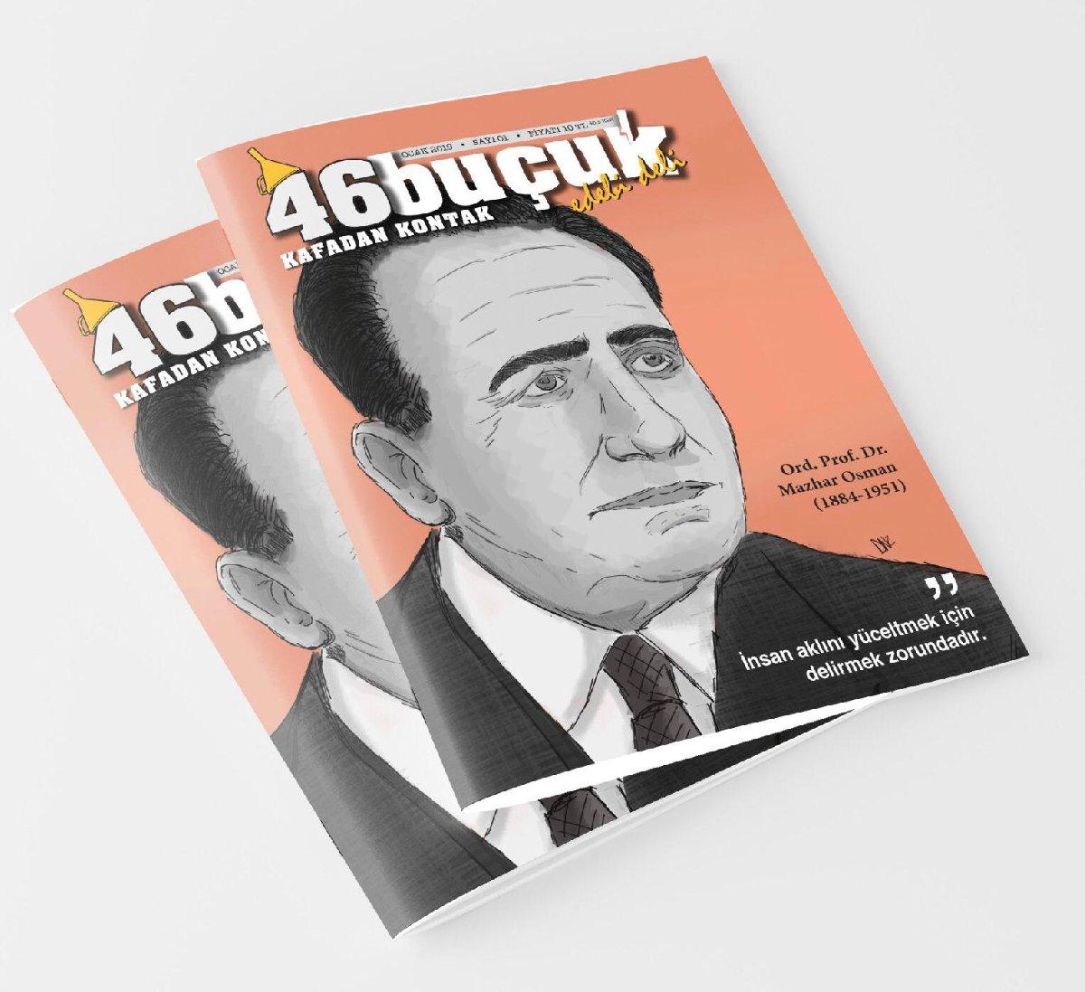 '46 Buçuk, Kafadan Kontak' adli sanat-edebiyat dergisi yayın hayatına selam dedi