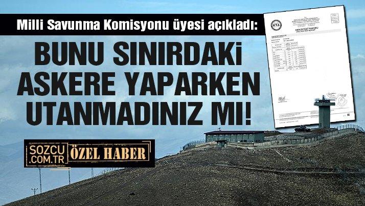 Mehmetçiğe 'ısıtmayan kömür' satmışlar!