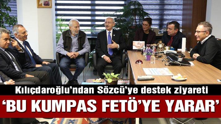 Kılıçdaroğlu'ndan SÖZCÜ'ye ziyaret