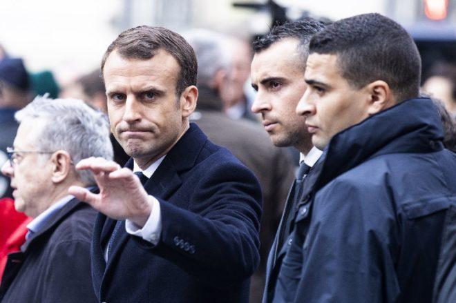 Macron G-20 dönüşü olayların yaşandığı bölgelere gitti.