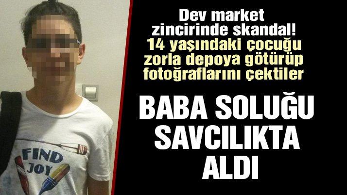 15 yaşındaki çocuğu 'tereyağı' hırsızlığıyla suçlayan market görevlilerine 27 yıl hapis istemi
