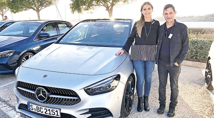 Yeni B Serisi tanıtım ve test sürüşü etkinliğinde ev sahipliğini Mercedes-Benz Türk Kurumsal İletişim Müdürü Ezgi Yıldız Kefeli yaptı.