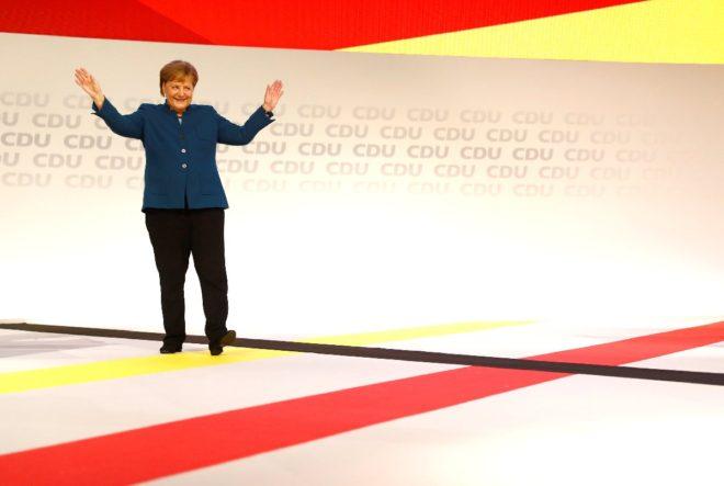 Merkel dün kongrede partisine böyle veda etmişti.