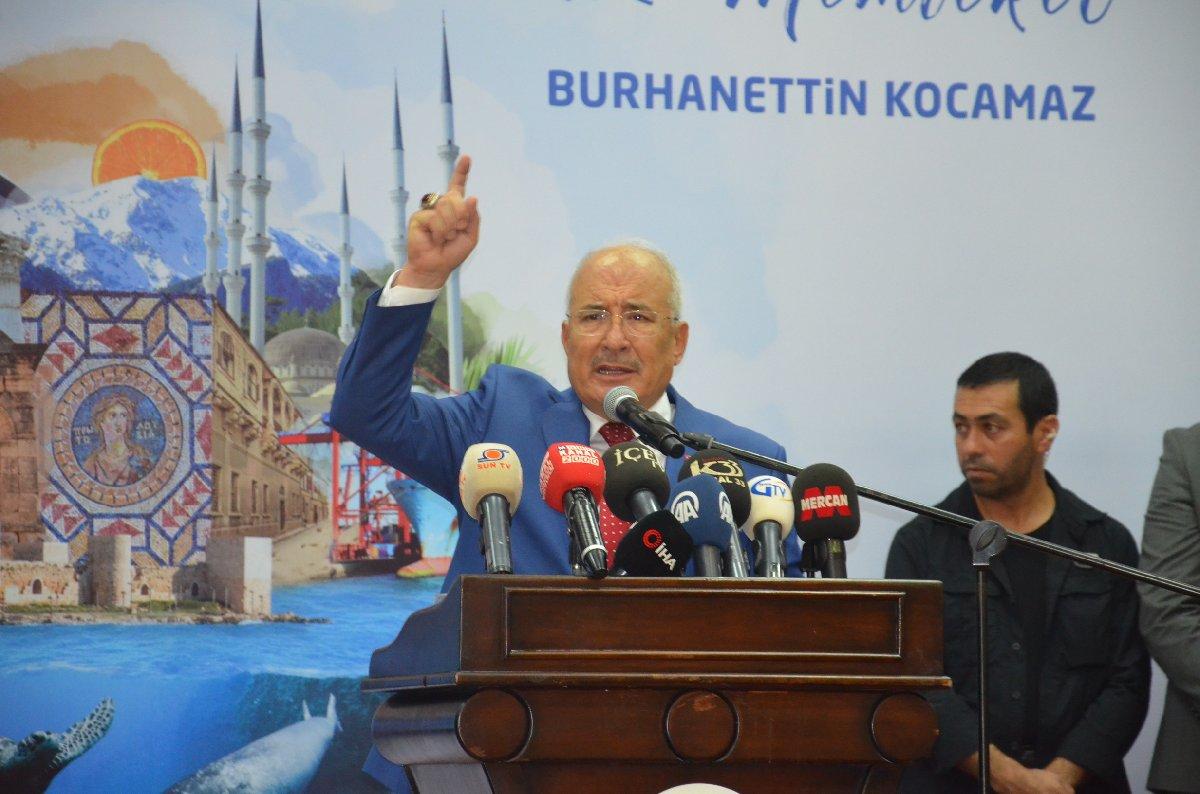 MHP'li Mersin Büyükşehir Belediye Başkanı Burhanettin Kocamaz, geçtiğimiz hafta partisinden istifa etmişti.