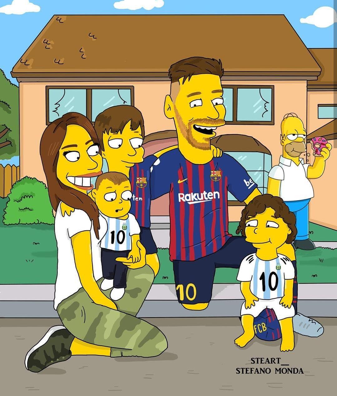 Messi ve ailesi
