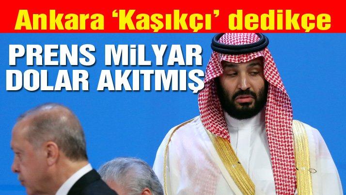Son dakika: Aylar sonra ortaya çıktı! Prens Selman, Türkiye'ye parasıyla cevap veriyormuş…