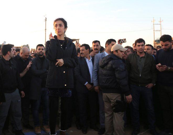 Murad hastane yaptıracağını Sincar'a yaptığı ziyarette açıkladı.