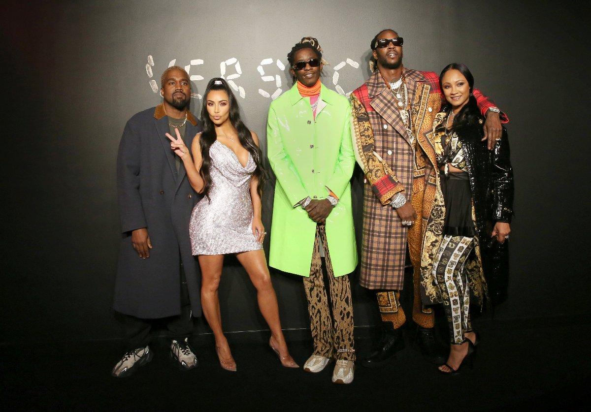 Kanye West, Kim Kardashian, Future, 2 Chainz ve Kesha Ward