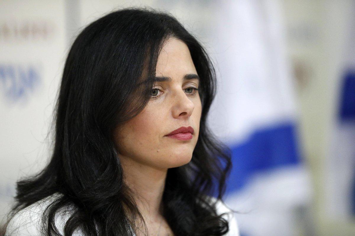 Netanyahu!nun en güvendiği isimlerden olan Shaked yeni parti kurma kararı aldı.