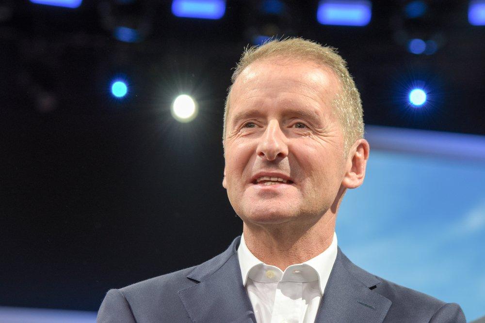 Volkswagen Grup CEO'su Herbert Diess
