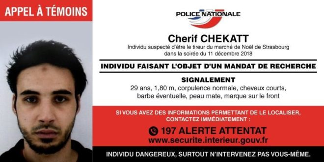 Saldırgan Chérif Chekatt.