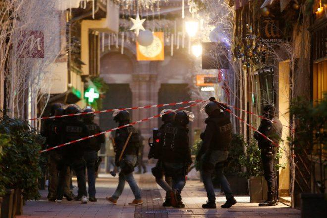 Saldırının ardından Fransız polisi alarma geçti.