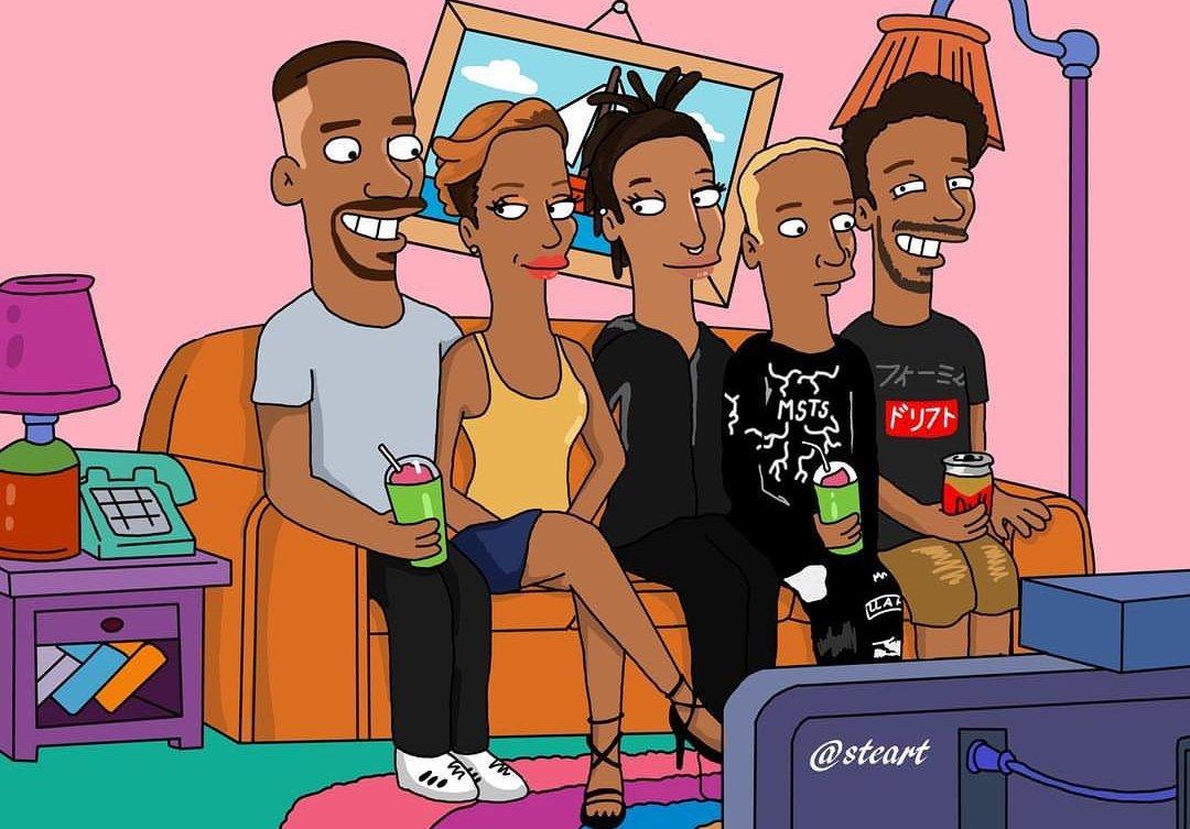 Will Smith ve ailesi