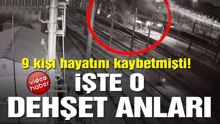 Son dakika… Ankara'daki tren kazası kameraya yansıdı! İşte o dehşet anı!