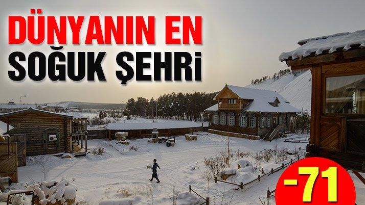 Dünyanın en soğuk kenti Yakutsk