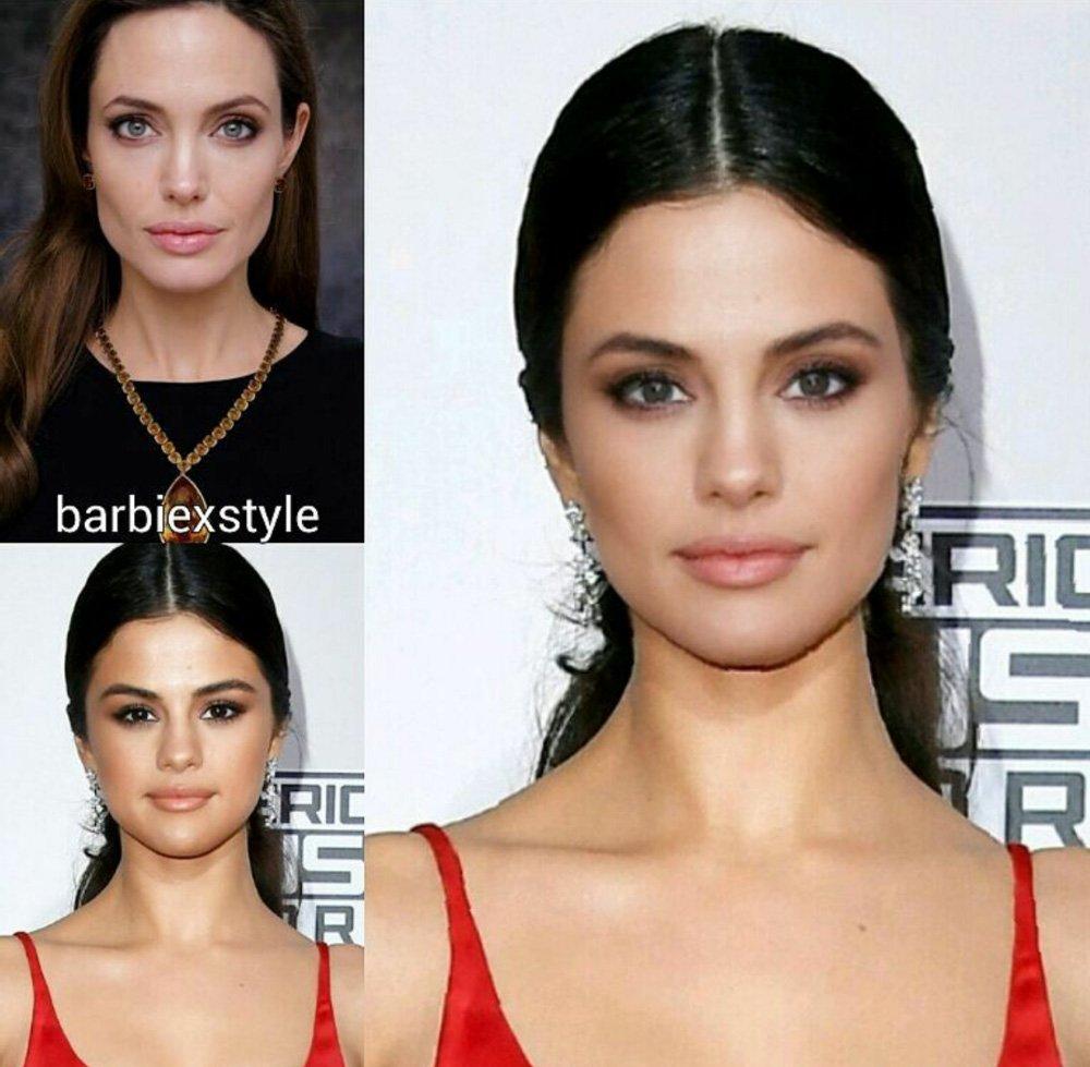 Angelina Jolie Selena Gomez