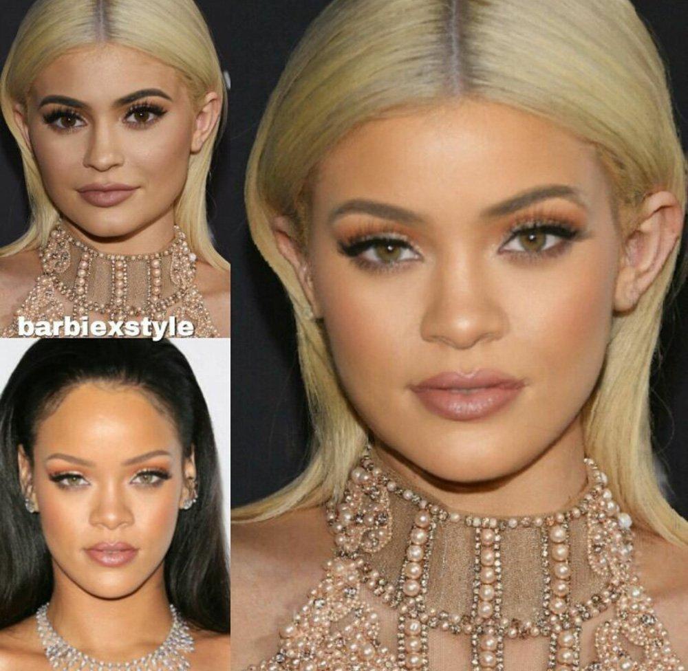 Kylie Jenner Rihanna