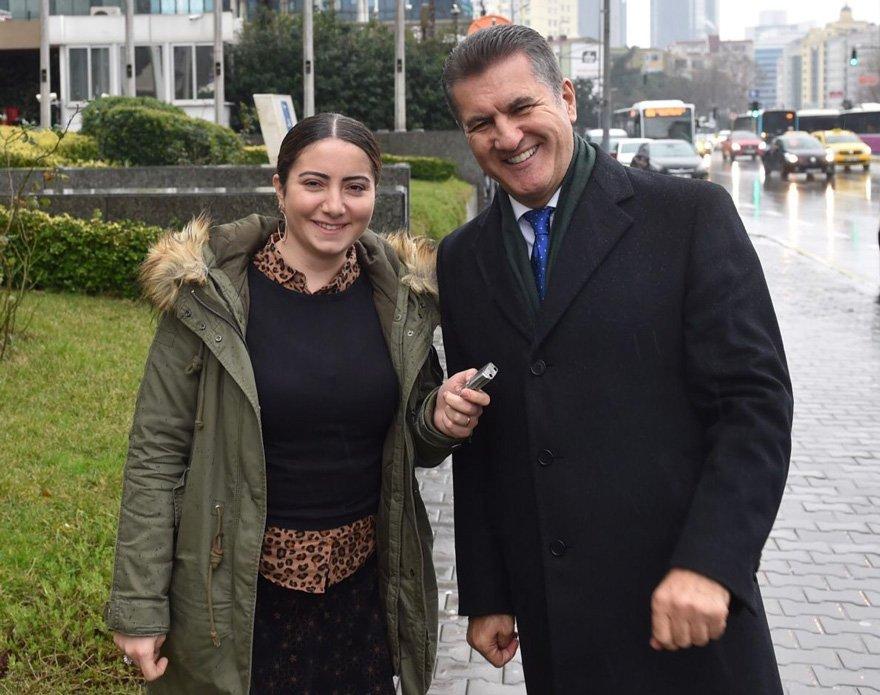 Mustafa Sarıgül, Hande Zeyrek ile Mecidiyeköy'de esnafı gezdi, derdini dinledi.
