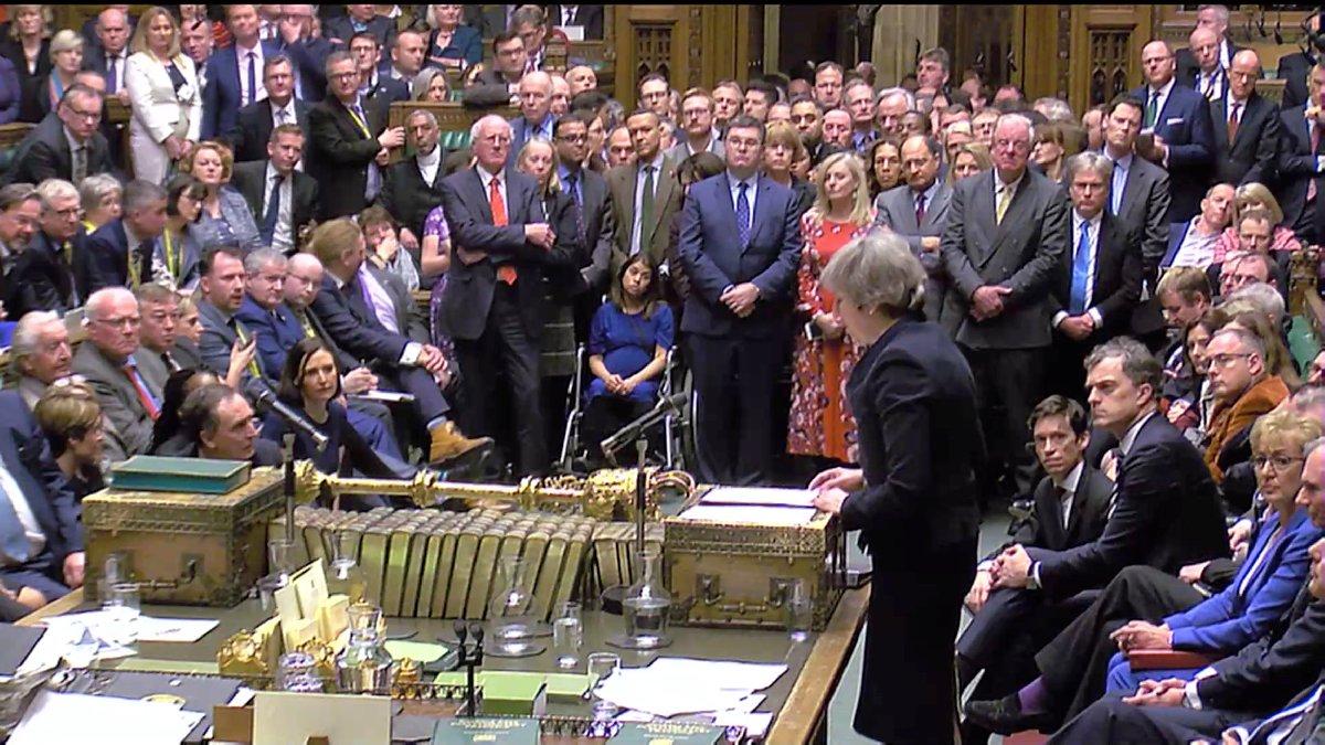 May Brexit anlaşması oylamasında büyük bir hezimet yaşadı. Rueters