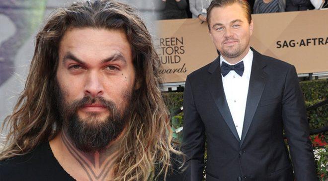 Jason Momoa - Leonardo DiCaprio