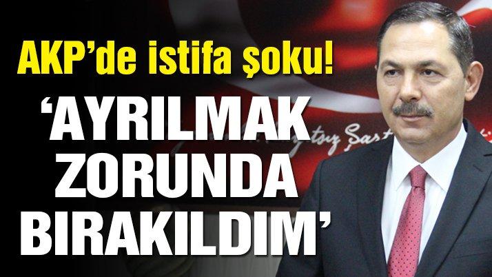 AKP'li belediye başkanı aday gösterilmeyince istifa etti!