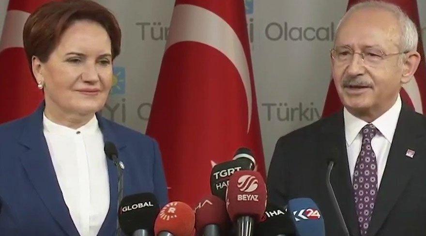 Akşener ve Kılıçdaroğlu yerel seçim hazırlıklarındaki son pürüzleri çözmek için bir araya geldi.