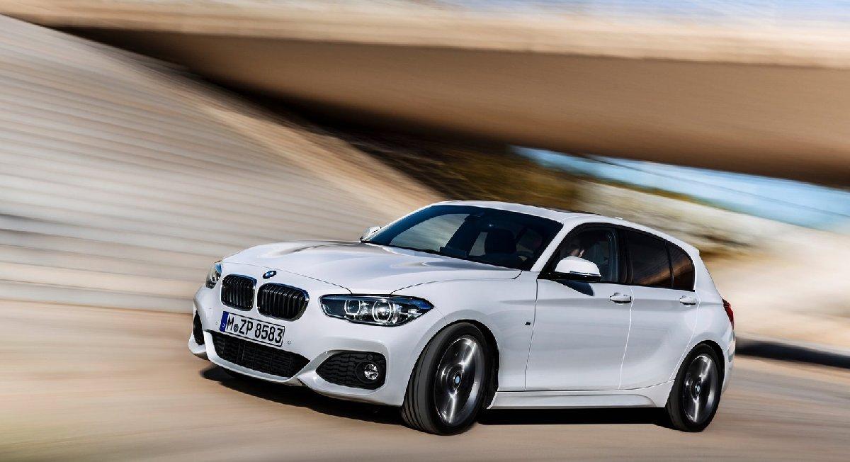 BMW'nin kopmakt sınıf otomobili 1 Serisi