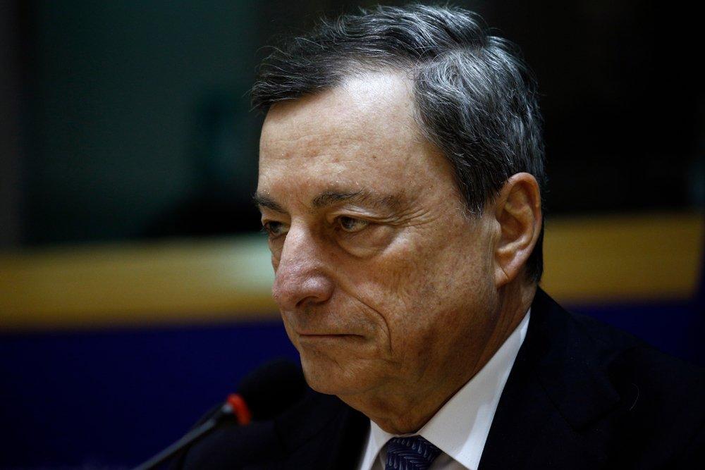 Avrupa Birliği Merkez Bankası Başkanı Mario Draghi