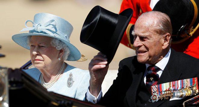 Kraliçe Elizabeth ve Prens Philip.