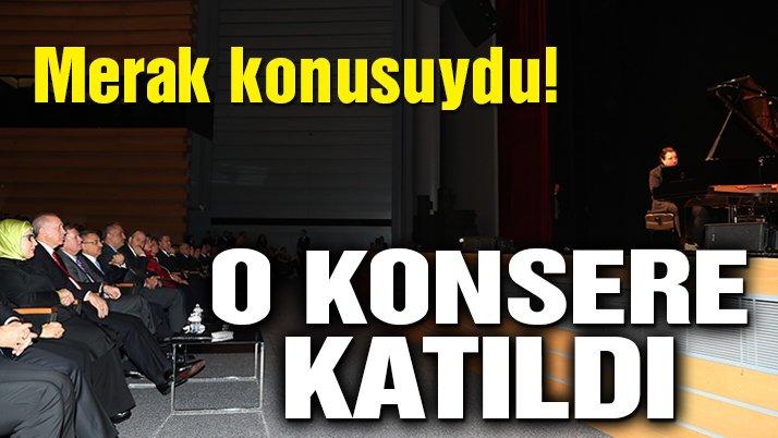 Erdoğan eşi ile birlikte Fazıl Say konserine katıldı!