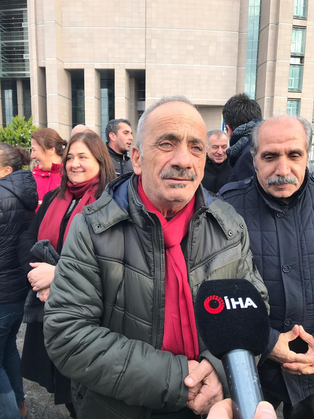 """FOTO:SÖZCÜ - Baba Hasan Erdem """"Yaşam biçimimizde devlete karşı işlenecek suçlar asla ve asla olmaz."""" dedi."""