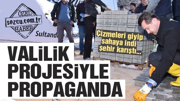 Eskişehir'i karıştıran tören: Devlet desteği ile seçim propagandası