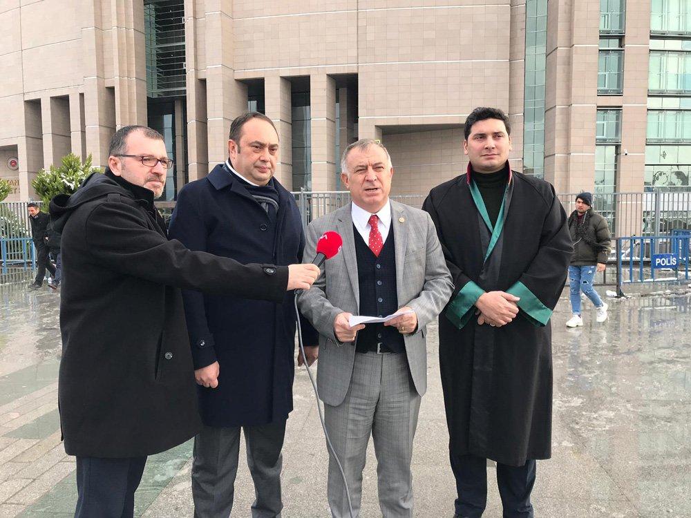 CHP milletvekili Gökhan Zeybek, savcılığa suç duyurusunda bulundu.