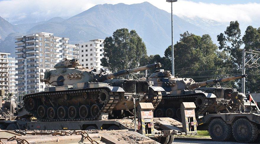 Tanklar Hatay'a ulaştı Foto: AA