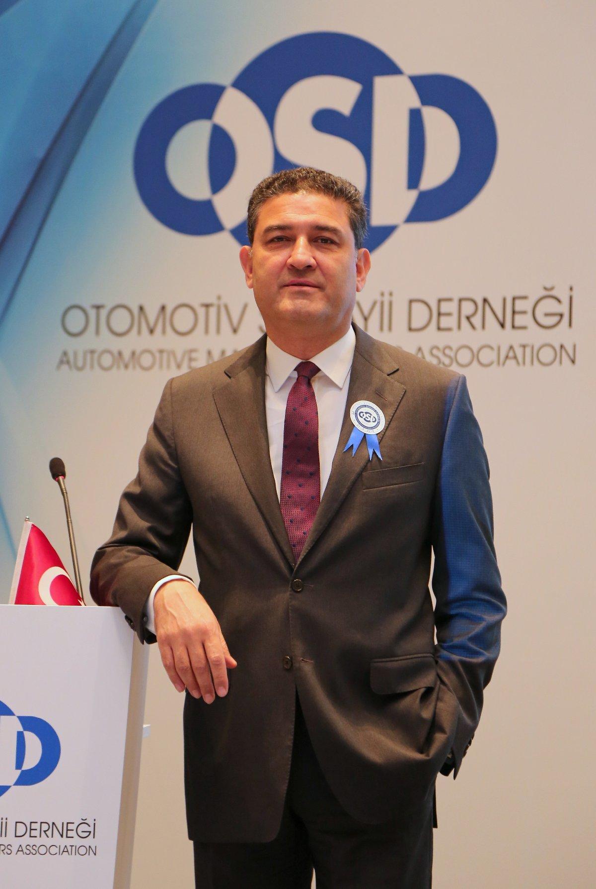 Otomotiv Sanayii Derneği (OSD) Yönetim Kurulu Başkanı Haydar Yenigün