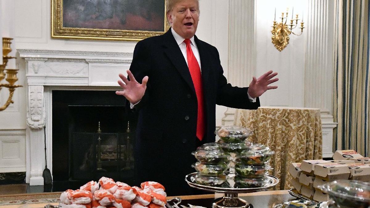 Burger King fırsatı kaçırmadı, Trump'ı böyle trolledi