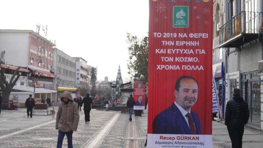 Edirne Belediye Başkanı tartışılan afişle ilgili konuştu