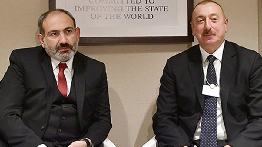 Aliyev, Ermenistan Başbakanı Paşinyan ile görüştü