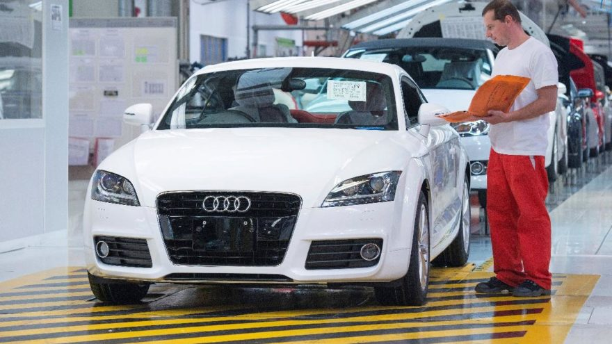 Audi üretimi durma noktasına geldi!
