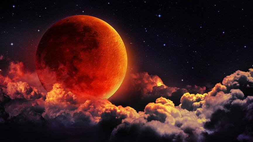 Aslan burcunda Ay tutulması haftası
