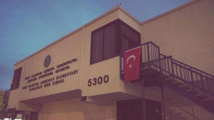 Bunu da gördük… Türk bayrağına soruşturma başlatıldı