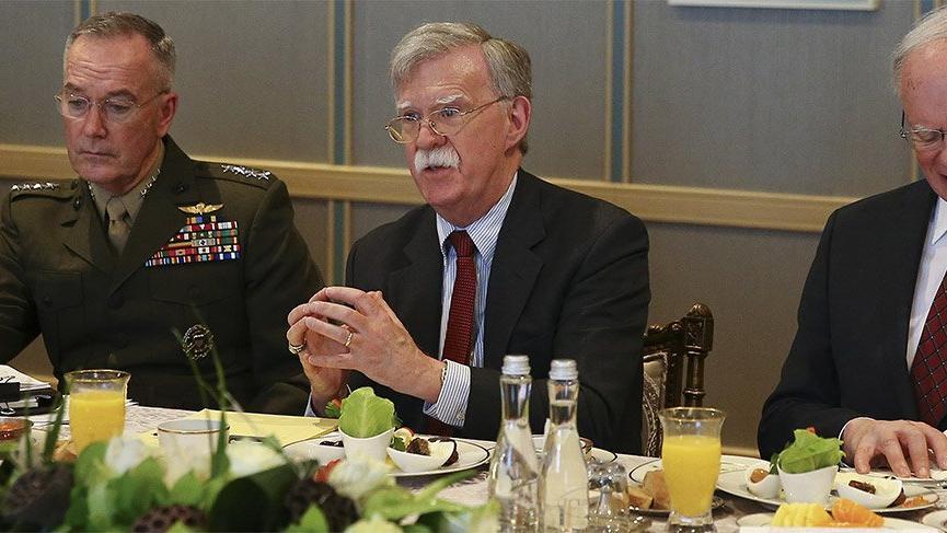 Bolton'ın Türk meslektaşıyla konuşmasını Reuters aktardı
