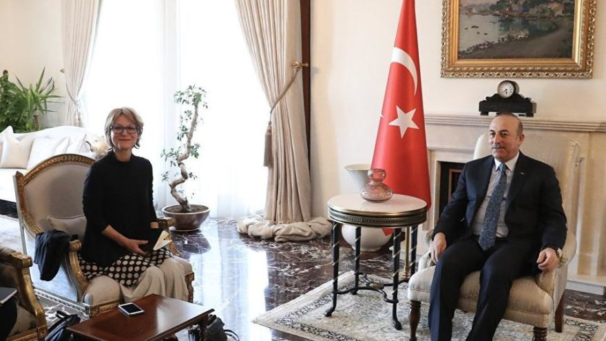 Kaşıkçı için gelen BM raportöründen Bakan Çavuşoğlu'na ziyaret