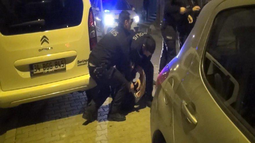 Aile kavgası sokağa taştı: Polise saldırdılar