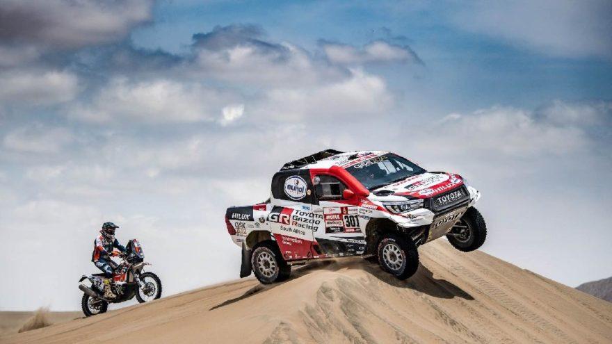 Dakar'da zafer Toyota'nın!